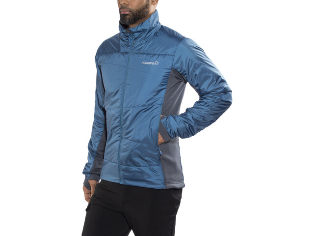 Norrøna Falketind Primaloft60 Jacket Herren denimite blue